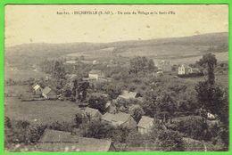 44- Incheville - Un Coin Du Village Et La Foret D'eu - Frankrijk
