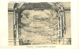 A-17.9136 : ANCIENNE GUYENNE. BORDEAUX. LE GRAND THEATRE  LA SALLE. - Bordeaux
