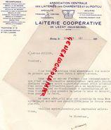 79-LEZAY-FACTURE LAITERIE COOPERATIVE-ASSOCIATION LAITERIES CHARENTES POITOU-FROMAGES CHEVRE-FROMAGERIE-LAIT-BEURRE-1941 - Food