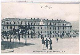 38  GRENOBLE  LE QUARTIER  D' ARTILLERIE    TBE    1W287 - Grenoble