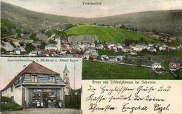CPA - SCHWEIGHOUSE (68) - Carte Multi-vues De 1909 - Boulangerie Albert Syren - Frankrijk