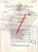 33- VINICOLE DE SAINT MACAIRE-FACTURE - VINS BORDEAUX-CHATEAU HUT LARTIGUE-CRU LA GARENNE-CHATEAU PEDEBAYLE-BEAULAC-194 - Food