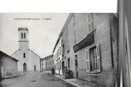 SAINT JODARD  L EGLISE   HOTEL GROS PLAN        DEPT 42 - Frankreich