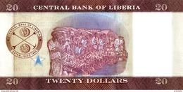 LIBERIA P. 33 20 D 2016 UNC - Liberia