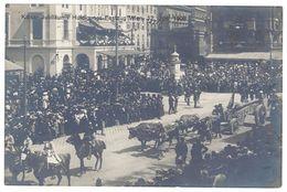 Cpa Autriche / Vienne / Wien - Kaiser Jubiläums 1908 - Festzug ... ( Pub Texte Au Verso Droguerie Wanieczek Horvath ) - Vienne