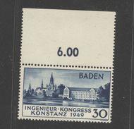Baden,46 II,XX,Oberrand,Attest (5290) - Französische Zone