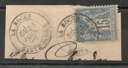 LA ROCHE Haute Savoie Sur SAGE. - 1876-1898 Sage (Type II)