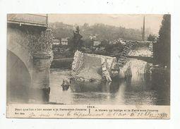 Cp , Militaria , 1914... , Pont Que L'on A Fait Sauter à La FERTE SOUS JOUARRE , écrite 1914 - Oorlog 1914-18