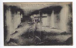 CPA Guerre 1914 1918 Le Monument De La Tranchée Des Baïonnettes Vue Intérieure - Guerra 1914-18