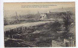 CPA Guerre 1914 1918 Vue Panoramique Du Monument De La Tranchée Des Baïonnettes - Guerra 1914-18