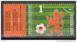 Nederland - Oranje Op Het WK-Voetbal - WK 1974 - West-Duitsland  - MNH/postfris - NVPH 3189b - Periode 2013-... (Willem-Alexander)