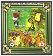 0451 Mozambique 2001 Soccer Worldchampionship 2002 Brasil Player Cafu S/S MNH Imperf - Wereldkampioenschap