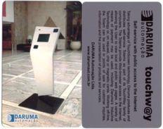 BRAZIL(Daruma) - Self-service With Public Access To The Internet, Daruma Inductive Card, Unused - Brésil