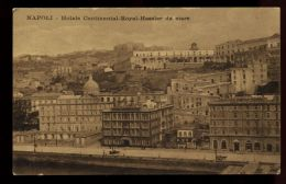 B3978 NAPOLI - HOTELS CONTINENTAL-ROYAL-HASSLER DAL MARE - Napoli