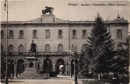 CPA Perugia Questura E Mon A Vittorio Emanuele . ITALY (547212) - Non Classificati