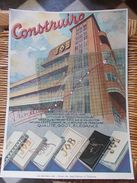 PLAQUE PUBLICITAIRE EN CARTON  JOB  Usine Des Sept-Deniers à Toulouse - Plaques En Carton