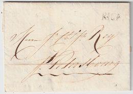 "Lettland, 1807 "" RIGA "" , #8462 - Lettland"