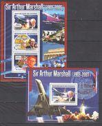 I470 2007 DE GUINEE AVIATION SIR ARTHUR MARSHALL 1KB+1BL MNH - Concorde