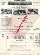 69- VILLEURBANNE LYON- BELLE FACTURE FRANCOIS BRUNNER-LACTINA SUISSE-USINE DE KEHL- VEVEY- 1939 - Food
