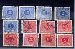 1928  Y 55 -66  Complet - Postage Due
