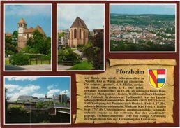 Pforzheim Chronik Ckronikkarte - Pforzheim