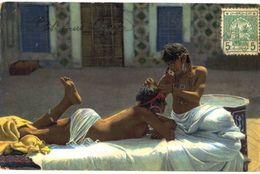 CPA N°11293 - OISIVETES DU HAREM - Morocco