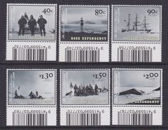 Ross Dependency 2002 The Discovery Expedition 6v (code In Margin) ** Mnh (36961 - Ongebruikt