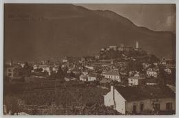 Bellinzona - Con Castello D'Uri - Photo: Perrochet-Matile - TI Tessin