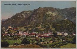 Bellinzona - Coi Tre Castelli, Veduta Sud - TI Tessin