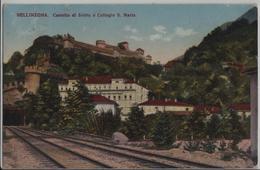 Bellinzona - Castello Di Svitto E Collegio S. Maria - Photo: Alfredi Finzi - TI Tessin
