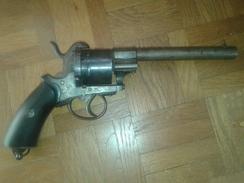 Collection Revolver A Broche Systeme Lefaucheux - Militair