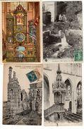 Lot De 100 Cpa De France,(Mer,Montagne,Ville,etc...) - Cartes Postales