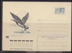 RUSSIA USSR Stamped Stationery Ganzsache 7915 1971.11.22  Birds Fauna - 1970-79