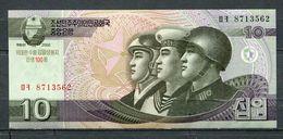 COREE DU NORD 10 WON 2002 PICK 59   BILLET NEUF UNC - Corée Du Nord