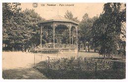 CPA Peu Fréquente :  NAMUR - Parc Léopold Près De La Gare - Kiosque - Namur