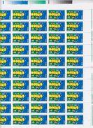 Europa Cept 2000 Romania 1v  Sheetlet (shtlt Is Folded) ** Mnh (F6725) - Europa-CEPT