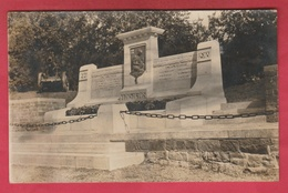 Havelange - Le Monument Aux Victimes Des 2 Guerres - Carte -photo ( Voir Verso ) - Havelange