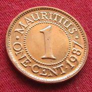 Mauritius 1 Cent 1987  Mauricia Maurice UNCºº - Mauritius