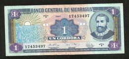 NICARAGUA - BANCO CENTRAL De NICARAGUA - 1 CORDOBA (1990) - Nicaragua