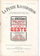LA PETITE ILLUSTRATION ROMAN THEATRE No 220 LE GESTE DE MAURICE DONNAY ET HENRI DUVERNOY - Theatre