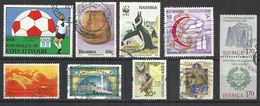 TEN AT A TIME - WORLDWIDE 11 - LOT OF 10 DIFFERENT - USED OBLITERE GESTEMPELT USADO - Stamps
