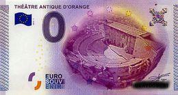 BILLET EURO TOURISTIQUE THEATRE ANTIQUE ORANGE  (2015-1) N°UEAY000970 - EURO