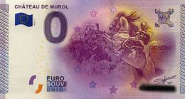 BILLET EURO TOURISTIQUE CHATEAU DE MURIOL   (2015-1) N°UEBS009757 - EURO