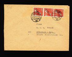 A4952) Berlin Brief Von Berlin 27.12.48 MeF Mi.3 (3) - Briefe U. Dokumente