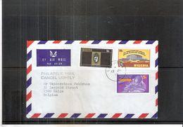 Cover From Nigeria To Belgium - 1979 - Nigeria (1961-...)