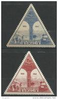 "Cote Somalis Aerien YT 11 & 12 (PA) "" Cinquantenaire "" 1943 Neuf** - Ungebraucht"