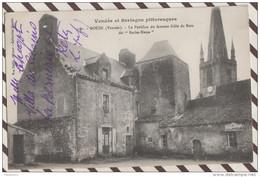4AF357 BOUIN LE PAVILLON DU FAMEUX GILLE DE RETZ  DIT BARBE BLEUE 2 SCANS - France