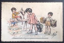 MW' 47. Enfants Au Marché De Volailles. Jacobs - Autres Illustrateurs