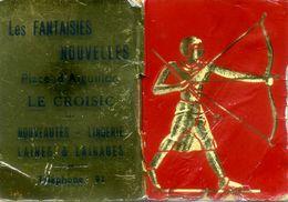 - Petit Calendrier De 1956 - Pub: Les FANTAISIES NOUVELLES: LE CROISIC. - Calendriers