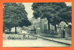"CPA 09 Ax Les Thermes "" Avenue Delcassé "" LJCP 50 - Ax Les Thermes"